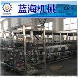 供应5加仑大桶水直线灌装桶装线/大桶水灌装机生产线