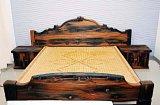 船木家具 船木床 三件套