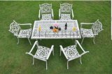 ALT-7281 铸铝花园家具 铸铝户外休闲桌椅 174CM长方台
