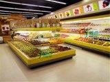 供应 超市环形岛柜,蔬菜保鲜展示柜,饮料冷藏环形展示柜