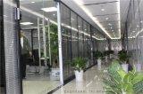 工商银行办公大楼办公高隔间,玻璃隔断,双玻夹百叶