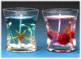 常年供应透明度高、弹性极佳、无烟环保、燃烧寿命长的果冻蜡烛原材料