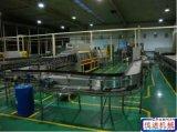 饮料厂专业链板输送机,整厂生产输送线