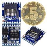 语音模块OE6590串口指定控制MP3芯片TF/SD/U盘音乐播放板带3W功放