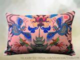 原创艺术优质棉麻腰枕