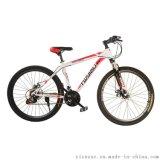 厂家直销自行车 新款 26寸山地自行车 学生礼品促销脚踏