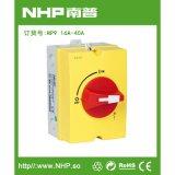NHP南普 厂家直供 NP09-16-40A 负荷隔离开关路边户内外专用 IP65可配锁