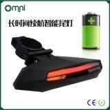 厂家定制自行车灯尾灯山地车USB充电尾灯LED安全警示灯 骑行装备配件