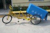 人力保潔三輪車、環衛三輪車、街道小區清掃車24人力易清洗三輪保潔車腳蹬三輪垃圾車