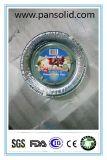 环保无污染铝箔餐盒 铝箔容器 圆形铝箔盘