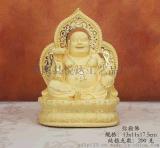 供应绒沙金系列如意招财弥勒佛 财神 观音摆件工艺品 树脂摆件 家居定制礼品