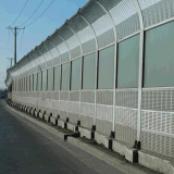 城市小区声屏障 高速公路声屏障 工业厂界隔音屏障 百叶孔隔声屏障