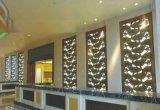 佛山嵘洪YH-2016铝雕花不锈钢框屏风