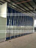 伟航过环评环保型无尘伸缩房 移动打磨房 伸缩式喷漆房