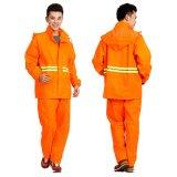 琴飛曼環衛雨衣戶外安全反光雨衣套裝