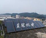 大型商用太阳能热水器,太阳能热水工程