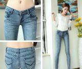 时尚女装韩版小脚牛仔裤特价清货 便宜铅笔裤批发