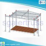 工厂定制520*760铝合金舞台桁架 广州舞台桁架厂家直销灯