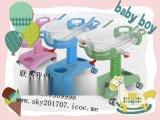 医用婴儿床车 不锈钢婴儿车豪华可升降abs月子会所婴儿床医院推车