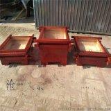 北京圆形种植花箱花盆 户外防腐木木制组合花箱座凳 景观种植木箱子