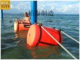 海洋建設管道浮體 抽沙排泥管道浮筒 海事工程建設塑料浮體 攔污浮筒500*800