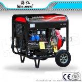 DG6000E芭比款带漏电和过载保护带计时器柴油发电机