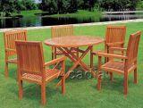 六件套杂木餐桌椅