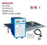 600w输出家用太阳能发电机系统 3000w输出太阳发电逆控便携一体机