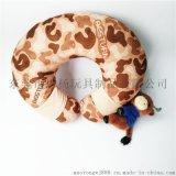 毛绒玩具生产厂家定制动物造U型颈枕