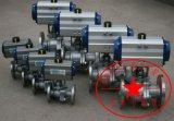 不锈钢气动球阀 不锈钢法兰气动球阀厂家