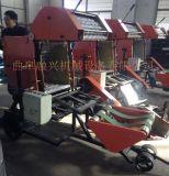 青贮打捆包膜一体机,养殖场玉米秸秆青储打捆机