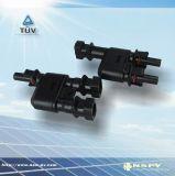光伏MC4類轉接頭/2轉1三通接頭/PV防水連接器