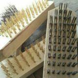 直销木柄钢丝刷,清洁刷,不锈钢丝刷,镀铜铜丝板刷,除锈刷可定制