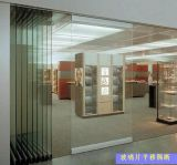 上海卢立隔间设计活动墙隔断玻璃可平移和折叠
