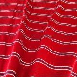 50s双丝光棉色织间条布 丝光棉布厂家