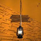 玛斯欧自主研发开模竹排煤油吊灯复古美式乡村风格MS-P9002餐厅酒吧吊灯