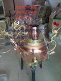 豫隆恒大铜壶|正宗莲子粥大铜壶|龙嘴大铜壶 免费培训技术
