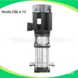 广州厂家直销立式不锈钢多级离心泵DBL4-10   2.2kw电驱动
