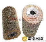 钢丝滚筒轮刷 滚筒刷 钢丝轮 滚筒轮 钢丝刷  剥漆钢丝轮 平行钢丝轮