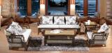 藤格格 8002 廠家批發真藤沙發客廳藤椅家具 海草藤藝休閒單人雙人三人茶幾組合五件套