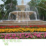 园林广场水景喷泉人造砂岩仿石盆三层跌水盆