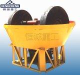 双轮碾金机厂家 用于水碾的碾金设备