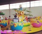 供應滎陽樂遊遊樂新型設備XCMZZB熊出沒轉轉杯遊樂設備/兒童熊抱罐泡泡機配套