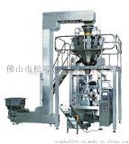大型立式全自动包装机 豆类颗粒电子称翻领立式包装机