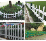 供應pvc新鋼護欄  PVC護欄替代品鋼護欄,鋼質護欄草坪花壇護欄