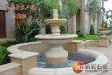 惠安石雕跌水景观