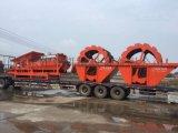选产量高质量优的洗沙机  水洗轮到建亚机械