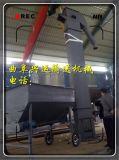 装罐挖斗提升机,料罐配套垂直上料输送机 封闭式斗式输送机