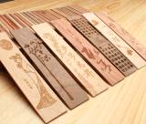 深圳木吊牌木书签木牌木制品木板木盒激光雕刻加工