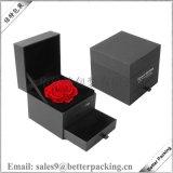 厂家定制高档礼品盒 方形抽屉盒永生花盒 双层鲜花包装盒现货直销
